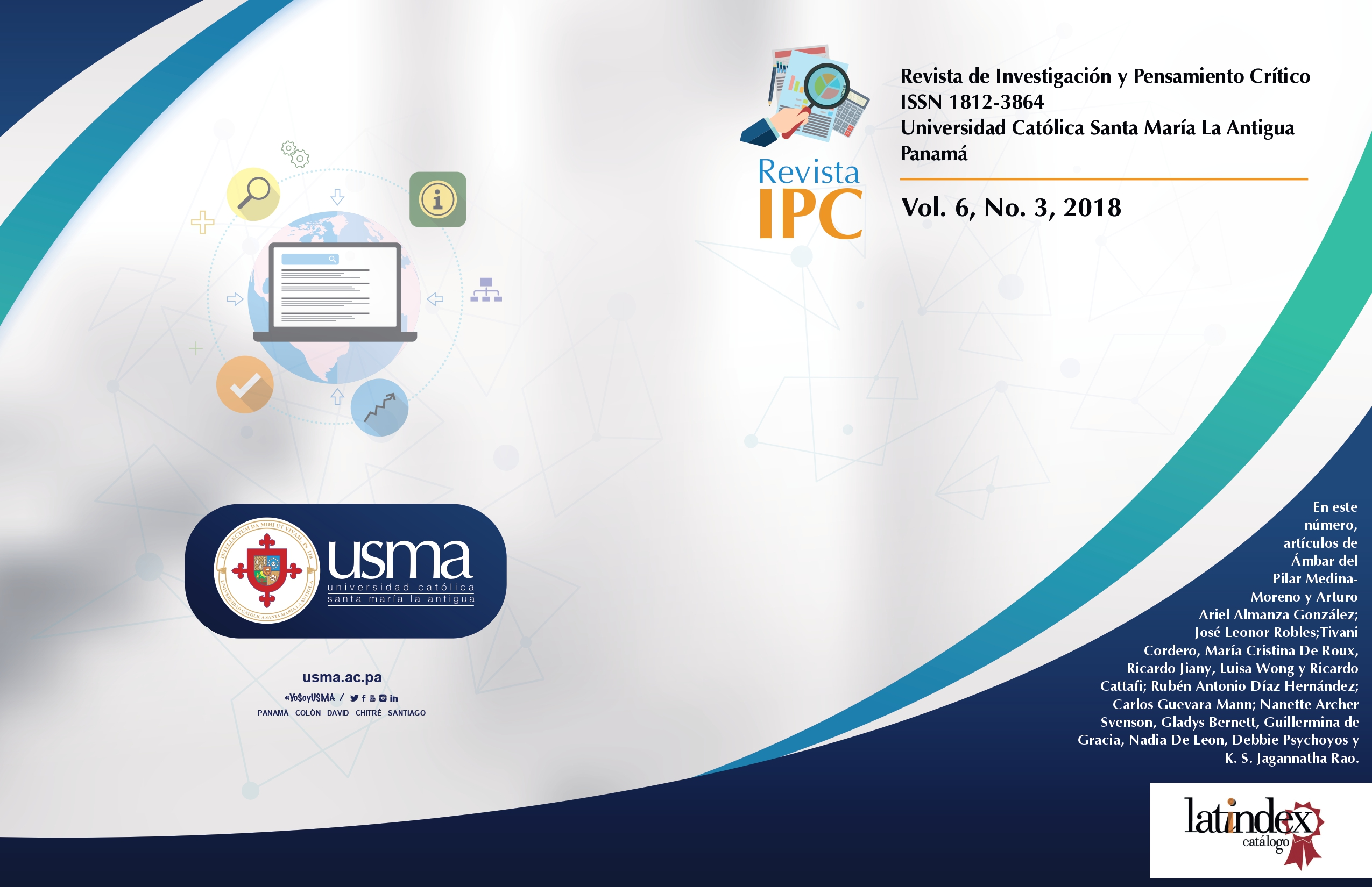 Imagen revista IPC, volumen 6, número 3, año 2018