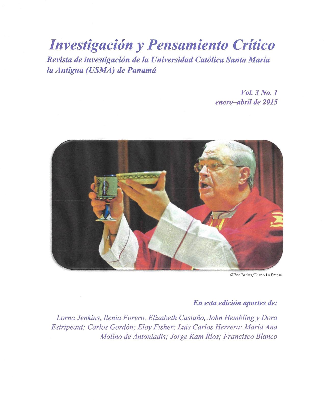 Imagen revista IPC, volumen 3, número 1, año 2015